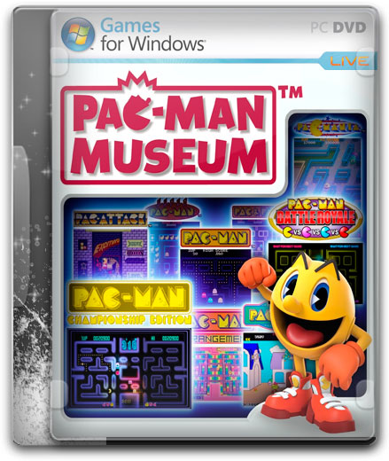capturas PAC MAN MUSEUM PC cover