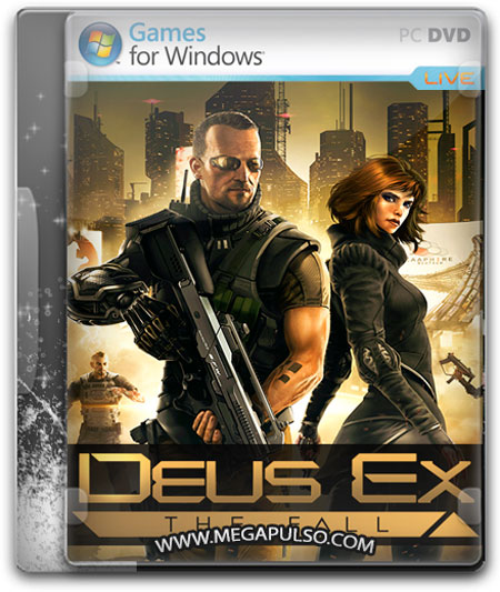 capturas Deus Ex The Fall PC cover