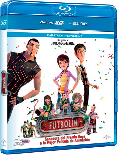 capturas Metegol bluray