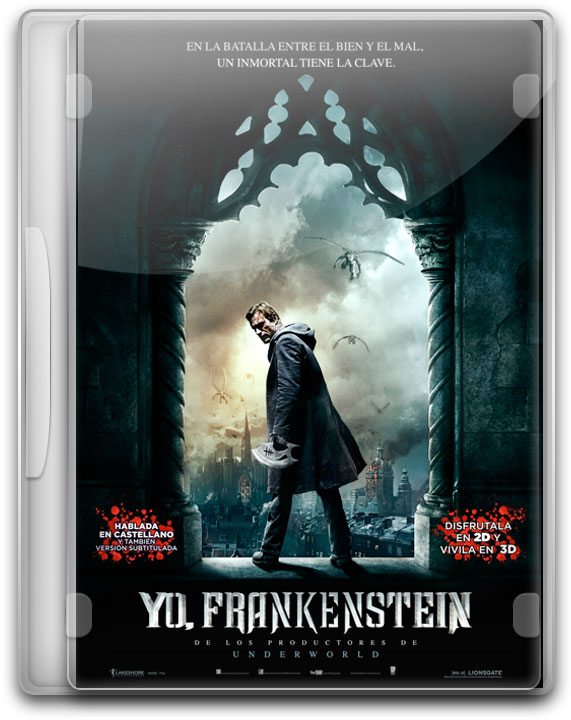 capturas Yo Frankenstein Poster