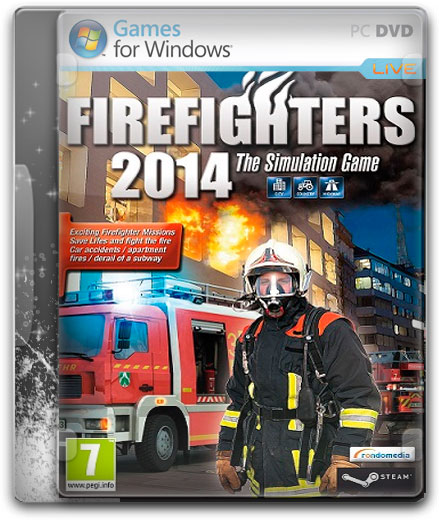 capturas Firefighters PC Cover