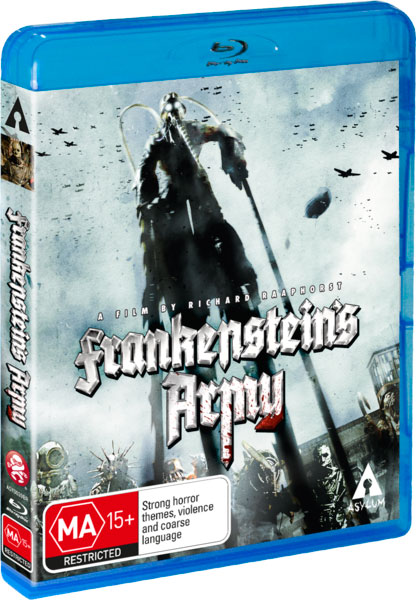 capturas Frankenstein's Army.bluray
