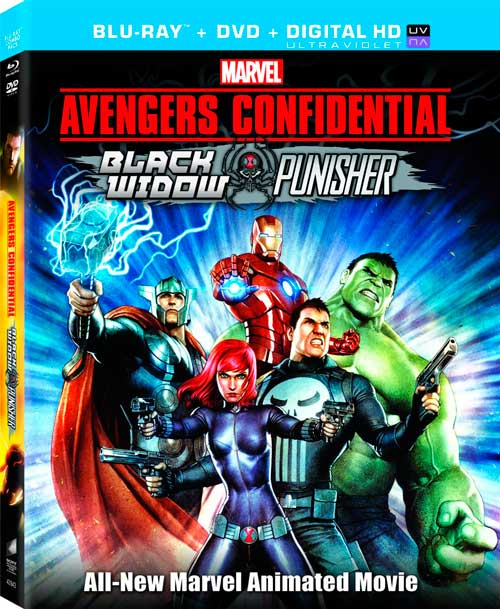 capturas avengers confidential black widow and punisher