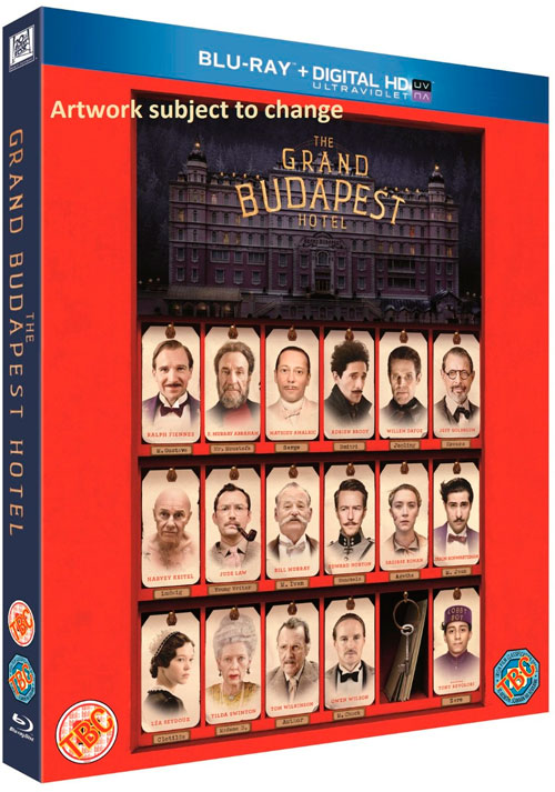 capturas The Grand Budapest Hotel bluray