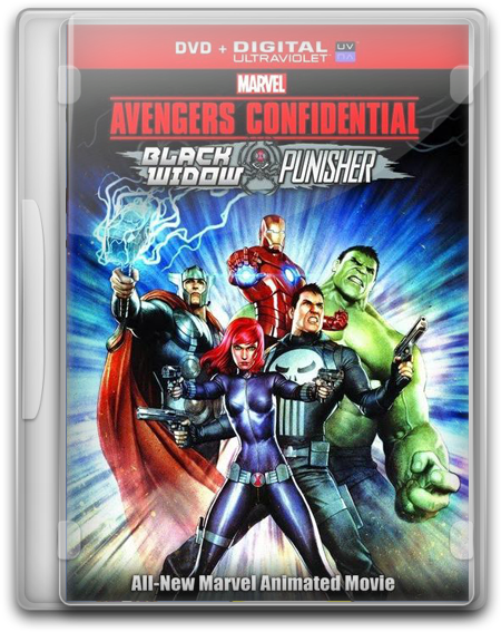 capturas Vengadores Los Archirvos Secretos Black Widow Punishe DVDRip Latino