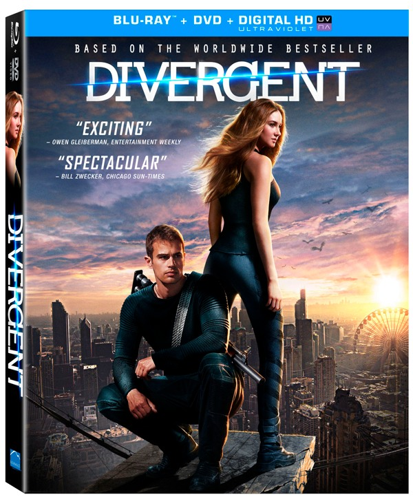 capturas divergent dvd blu ray special features release date